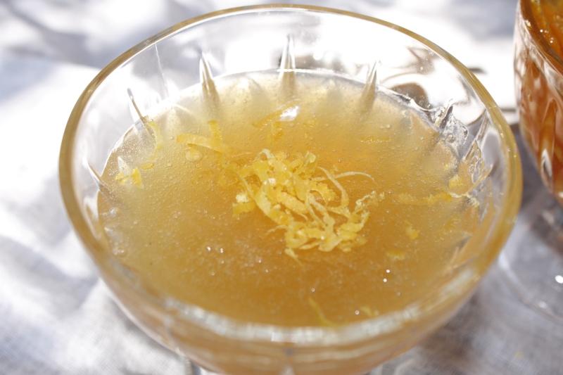 Lemon Jelly, recipe from 1748