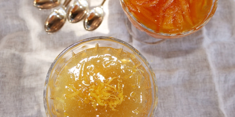 Lemon Jelly, recipe from 1748