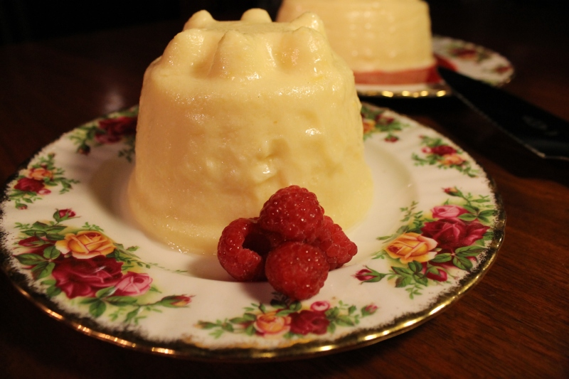 Lemon Blancmange, recipe from 1861