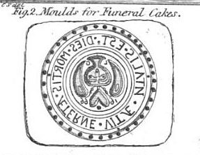 Funeral Biscuit Mould