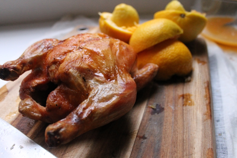 Chicken with Orange Sauce from 'Libro de Arte Coquinaria'