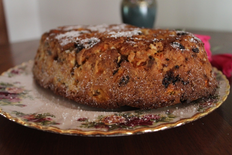 Carrot pudding, recipe from 1869