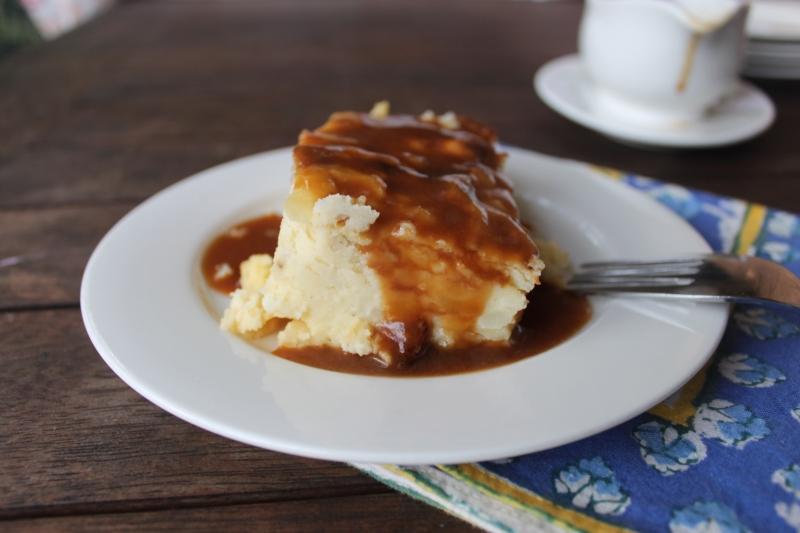 Potato pudding, recipe from 1861