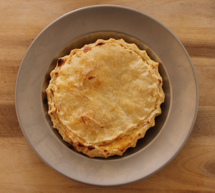 Tarte Owt of Lente, 15th century pie recipe from Turnspit & Table