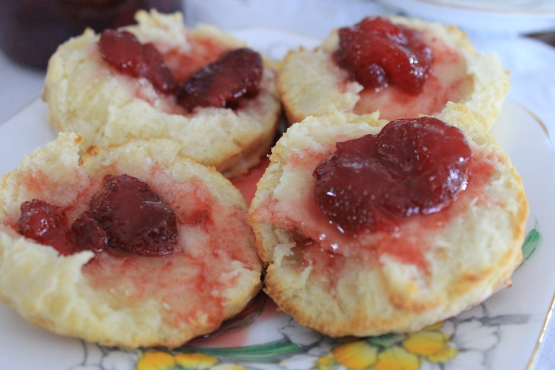 Strawberry Jam, recipe from 1915