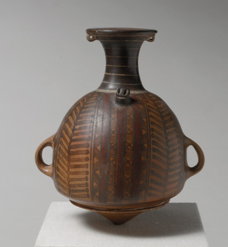 Incan urpus or storage jar, 15th to 16th century, Met Museum