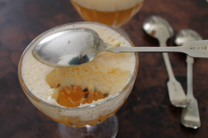 Passionfruit flummery, recipe from 1939